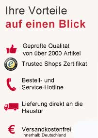 Vorteile bei BetzShop.de