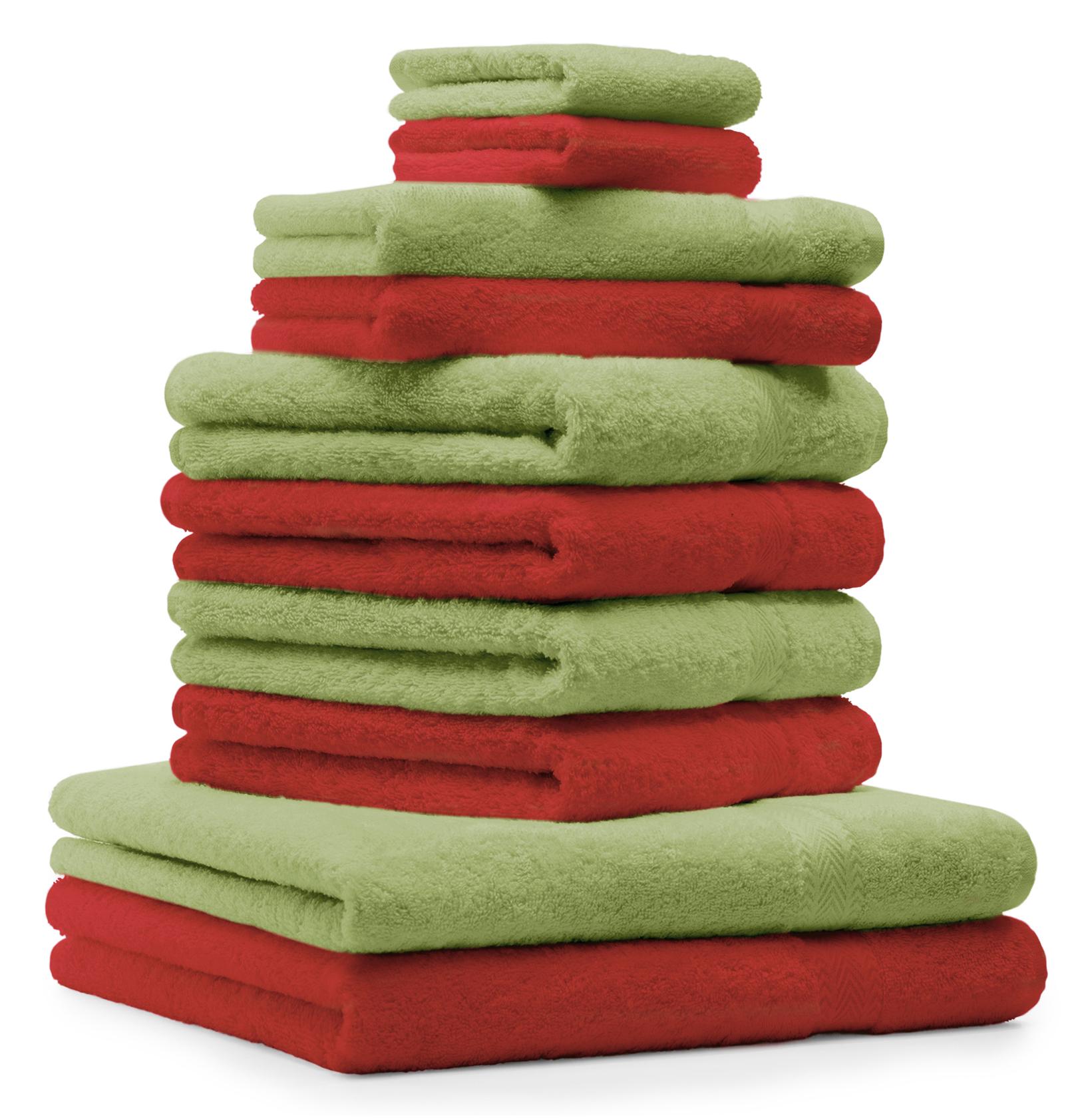 betz 10 tlg handtuch set classic 100 baumwolle 2 duscht cher 4 handt cher 2 g stet cher 2. Black Bedroom Furniture Sets. Home Design Ideas