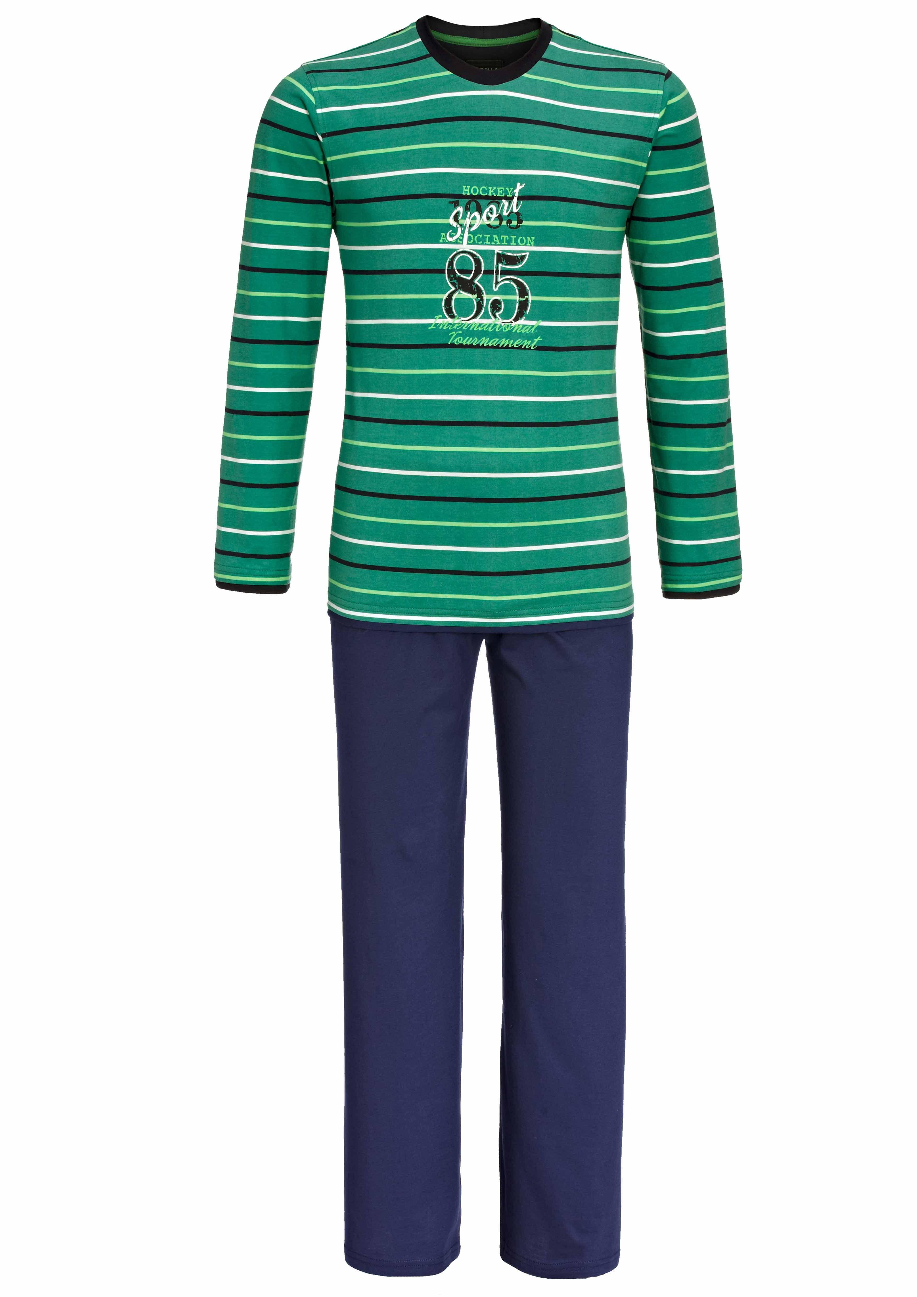 pyjama long pour homme couleur vert meraude taille 48 56. Black Bedroom Furniture Sets. Home Design Ideas