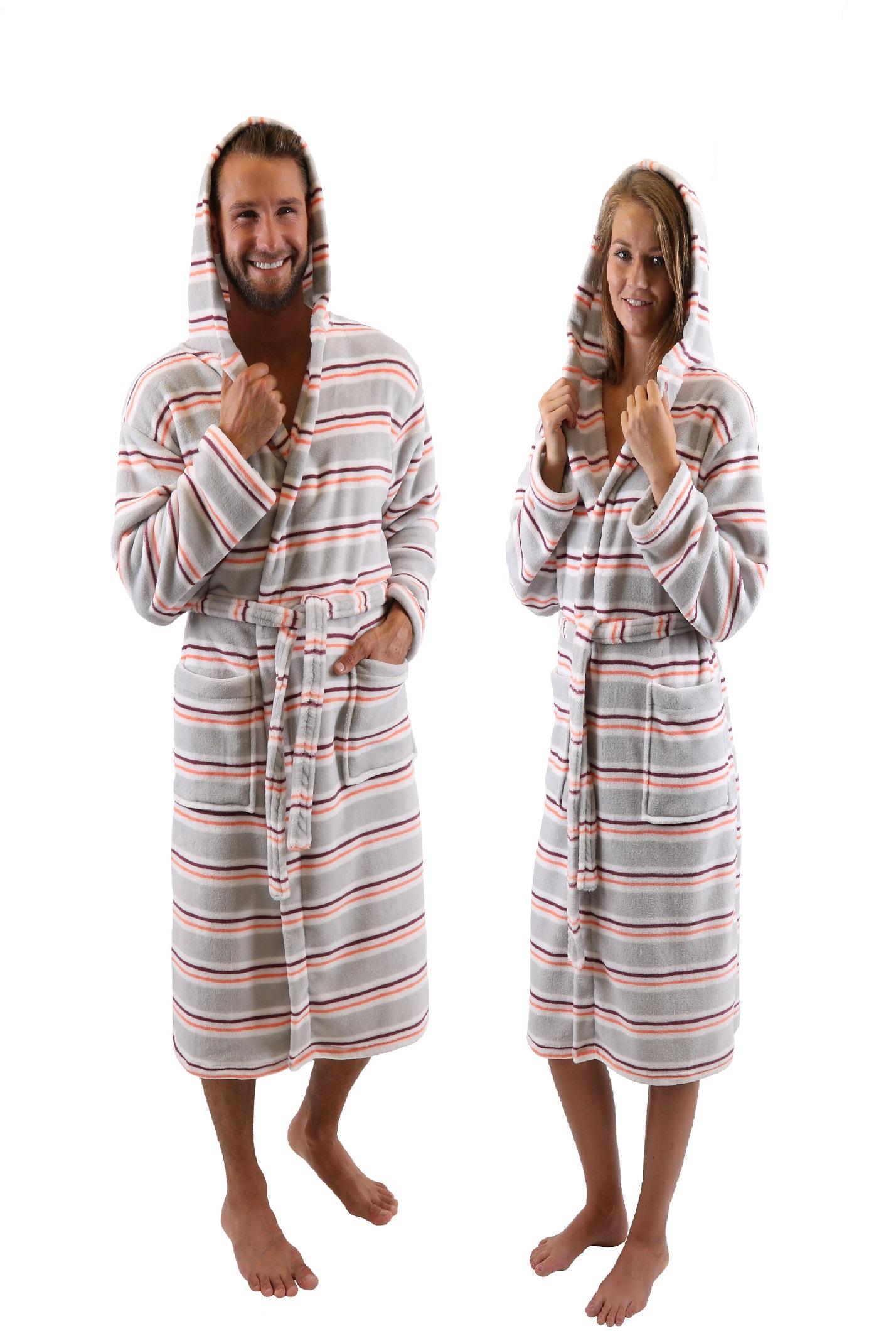 0fade7f696 Betz Peignoir d'intérieur/ Peignoir de bain à capuche pour femme et homme  WIEN Article: 221